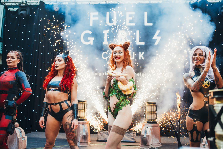 Fuel girls ass